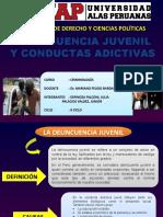 Delincuencia Juvenil y Conducta Adictiva