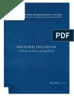 Relatório Preliminar - Comissão Do Ensino de Engenharia