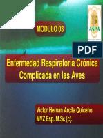 Enfermedad respiratoria crónica en la aves