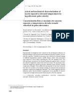 2. Caracterización Física y Mecánica Del Hormigón Expuesto a Temperaturas Elevadas Mediante El Uso de La Velocidad Del Pulso Ultrasónico 2015
