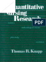 Thomas R. Knapp-Quantitative Nursing Research-SAGE Publications, Inc (1998)
