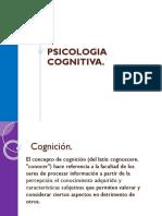 PSICOLOGIA COGNITIVA.pps