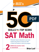 [Bookflare.net] - McGraw-Hill's Top 50 Skills for a Top Score SAT Math