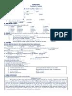 English 2nd Periodical Examination