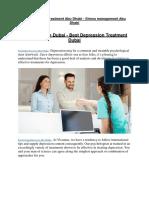 Sleep Disorder Treatment Abu Dhabi - Psychological Services Abu Dhabi