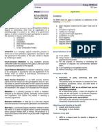 Alternative Dispute Resolution (Notes & Summaries of related literature)