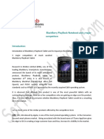 BlackBerry PlayBook Notebook and 5 major competitors