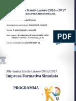 Programma IFS Luiss 2016-2017