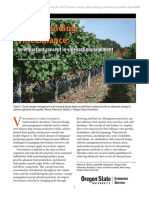 Vineyard Yield Estimate, Vine Balance