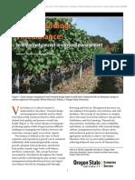 Vineyard Yield Estimate, Vine Balance