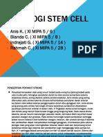 Biologi Stem Cell