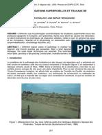 Pathologie Des Fondations Superficielles Et Travaux de Réparation