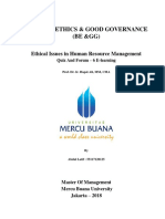 5,1, BE & GG, Abdul Latif., SE, Prof. Dr. Ir. Hapzi Ali, MM, CMA, Ethical Issues in Human Resource Management, Mercu Buana University, 2018.