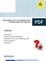 PLN P2B Jawa Bali Practical Work Presentation