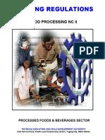 Tr-food Processing Nc II