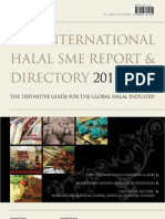 Mock set for The International Halal SME Report & Directory 2011/12