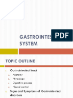 5 Gastrointestinal System