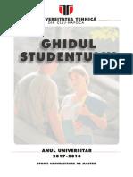 Ghidul Studentului Master 2017-2018