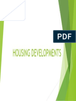 Housing Developments