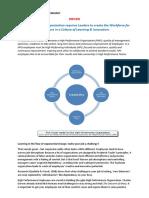 Executive Summary Quest for Intrapreneurship