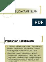 Pai 10 Kebudayaan Islam