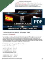 Prediksi Bola Spanyol vs Inggris