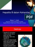 4. Hepatitis B in Pregnancy