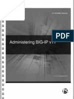 F5 Administering BIP-IP V11 | Command Line Interface | Proxy