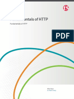 f5 Fundamentals of Http