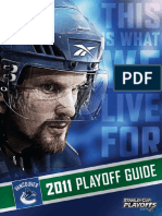 2011 Vancouver Canucks Playoff Media Guide