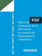Marco de Evaluación Normativa en Materia de Planeamiento (Versión Final)
