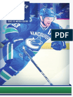 2012-13 Vancouver Canucks Media Guide