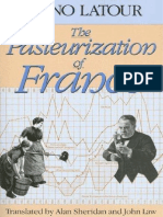 Bruno Latour-The Pasteurization of France (1993)