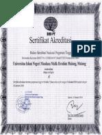Akreditasi UIN Malang