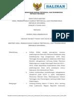 Permendes PDTT No.2 Tahun 2016 tentang Indeks Desa Membangun