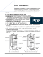 Refrigeration Function and Type