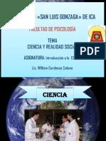 1 Tema Ciencia y Realidad Social