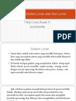 Perbedaan Sistem Linier Dan Non-linier