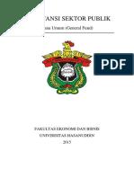 Akuntansi Sektor Publik Dana Umum Genera