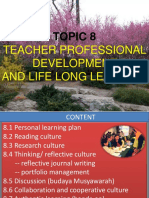 8.1 Personal Learning Plan