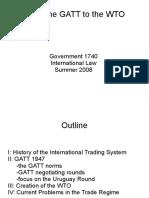 GATT TO WTO