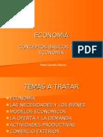CONCEPTOS BASICOS ECONOMIA