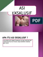 PPT ASI Eksklusif
