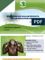 Komunikasi Menurut Budaya Minangkabau