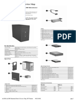 Illustrated Parts & Service Map HP Compaq dx2300 and dx2308 Microtower Business PC
