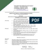 9.1.2.3 SK tentang penyusunan  indikator klinis dan indikator perilaku pemberi layanan klinis.docx