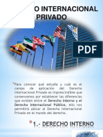Derecho internacional privado diapositivas