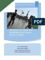 Beneficios Del Desarrollo Sostenible en El Turismo de Ica y Trujillo