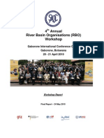 SADC RBO Workshop 2010_Final Report