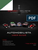 Automobilista User Guide (Basic)